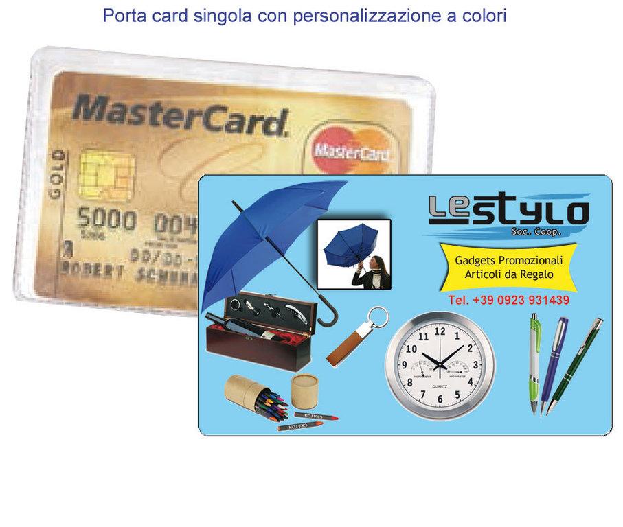 10f61b4f24 Busta porta card/tessera sanitaria art. Z52001-C - www.lestylo.it