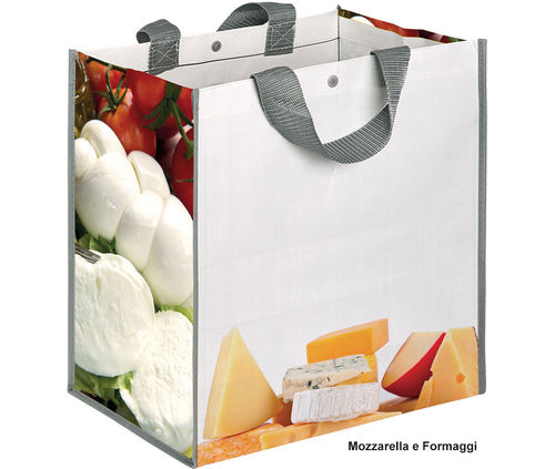 "Shopper ""Mozzarella e Formaggi"" art SH094MF"